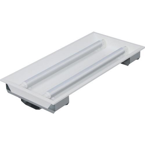 ■IRIS LED直管用専用器具 埋込下面開放型20形2灯用〔品番:IRLDFL22UK〕[TR-8514626]【個人宅配送不可】