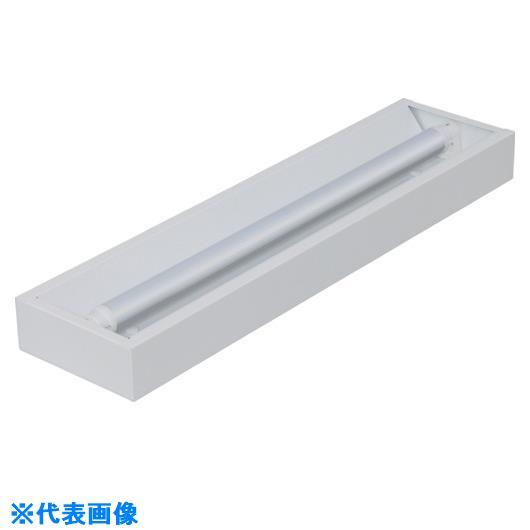 ■IRIS 電源内蔵ランプ用器具 直付下面開放型 1灯 40形〔品番:IRLDFL41CL-K〕[TR-8514628]【個人宅配送不可】