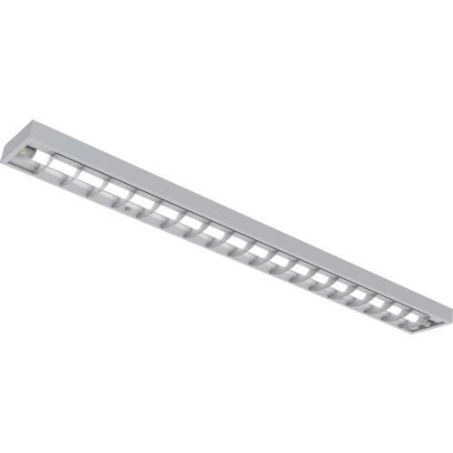 ■IRIS 電源内蔵ランプ用器具 直付下面ルーバー型 1灯 40形〔品番:IRLDFL41CL-LV〕[TR-8514629]【個人宅配送不可】