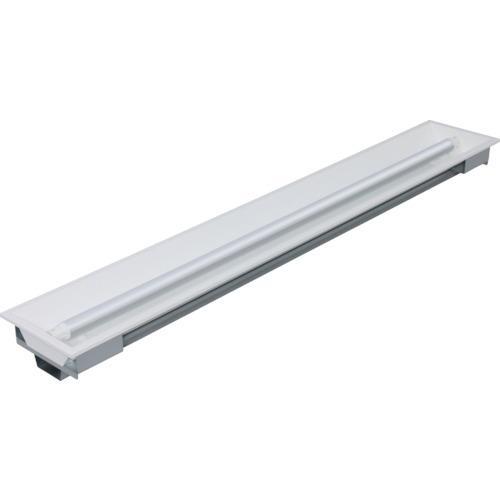 ■IRIS LED直管用専用器具 埋込下面開放型40形1灯用〔品番:IRLDFL41UK〕[TR-8514631]【個人宅配送不可】