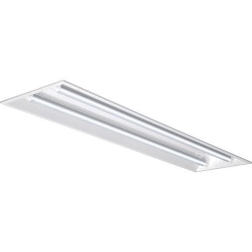 ■IRIS LED直管用専用器具 埋込下面開放型40形2灯用〔品番:IRLDFL42UK〕[TR-8514637]【個人宅配送不可】
