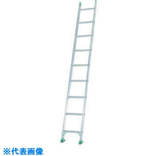 ■アルインコ 一連梯子 2.48m 最大使用質量100kg〔品番:AX23SE〕[TR-8514729]【大型・重量物・個人宅配送不可】