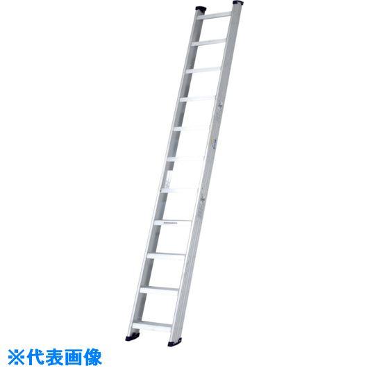 ■アルインコ 階段はしご(全長2.67m)最大使用質量150kg〔品番:WS26A〕[TR-8515121]【大型・個人宅配送不可】