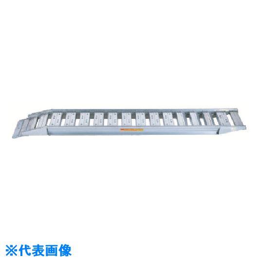 ■昭和 SBAG型ブリッジ2個1組 全長3200MM 有効幅400MM〔品番:SBAG-300-40-4.0〕[TR-8515492]【大型・重量物・個人宅配送不可】
