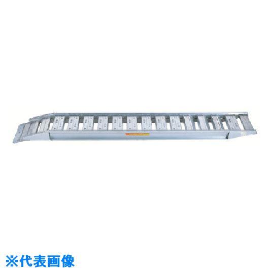 ■昭和 SBAG型ブリッジ2個1組 全長3200MM 有効幅400MM〔品番:SBAG-300-40-5.0〕[TR-8515493]【大型・重量物・個人宅配送不可】