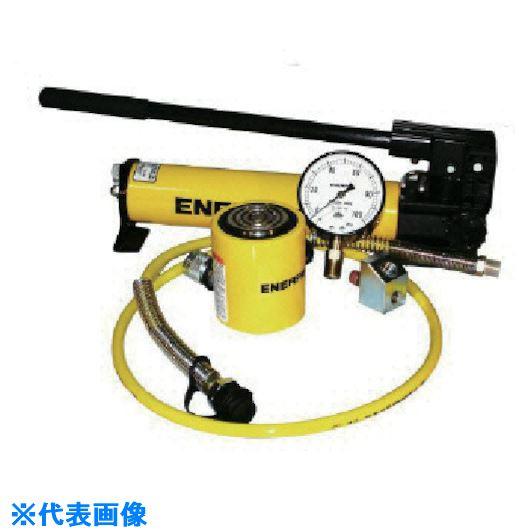 ■エナパック 重量物持上用油圧シリンダ・ポンプセット  〔品番:CS-302〕[TR-8520020]