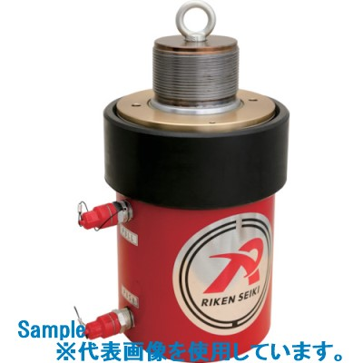 ■RIKEN 複動式油圧シリンダ-〔品番:D20-300VC〕[TR-8520025]【大型・重量物・個人宅配送不可】