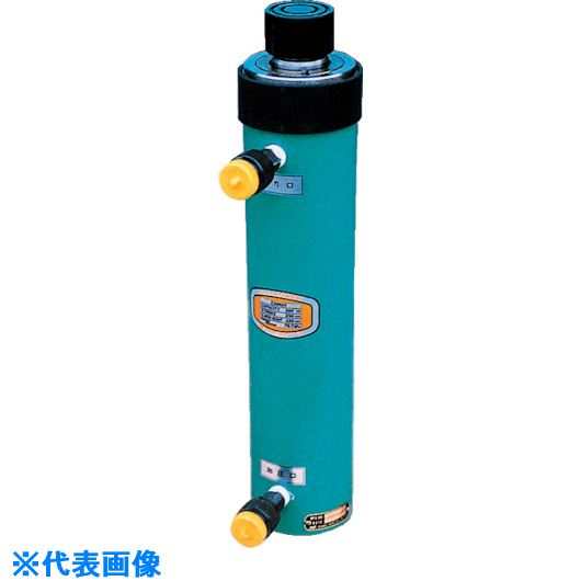 ■OJ 油圧戻りジャッキ  〔品番:E50H15〕[TR-8520063]【大型・重量物・送料別途お見積り】