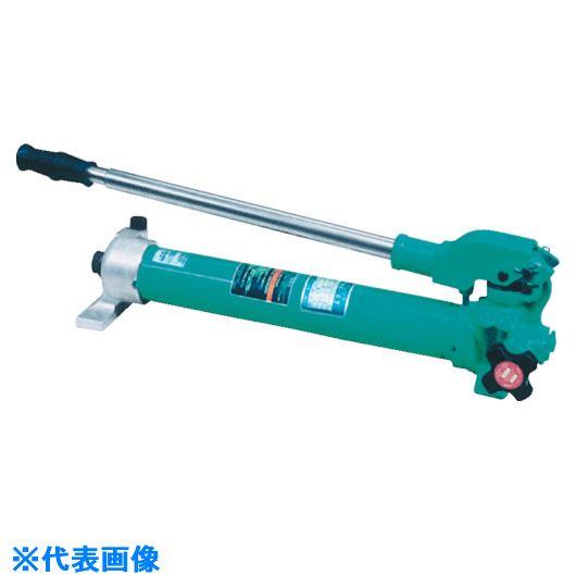 ■OJ 手動油圧ポンプ足踏式〔品番:FP-0.5〕[TR-8520071 ]【送料別途お見積り】