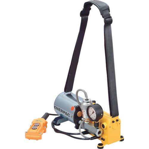 ■エナパック 単相100Vポータブル小型電動油圧ポンプ  〔品番:PE301HWC〕[TR-8520155]