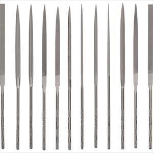 ■バローベ 精密ヤスリ 12種セット 160MM #2  〔品番:LA2493-2〕[TR-8528389]