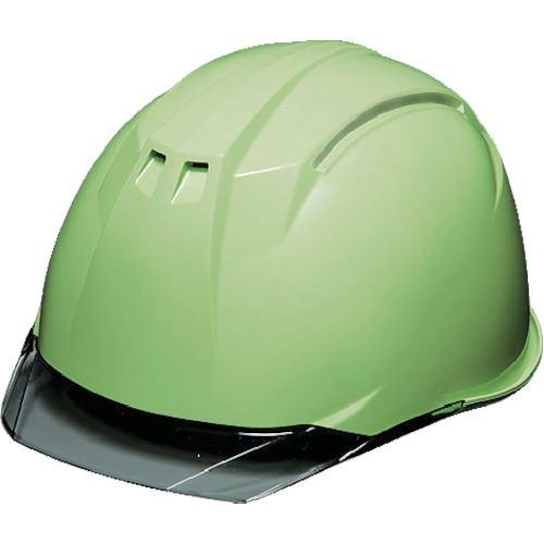 ■DIC AP11-C型ヘルメット フレッシュグリーン/スモーク KP付 20個入 〔品番:AP11-C-FG/S〕外直送元[TR-8537289×20]【個人宅配送不可】