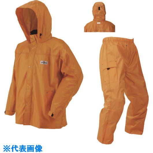 ■川西 レインクルードットコム オレンジ Lサイズ《5着入》〔品番:3542OR-L〕[TR-8545530×5]