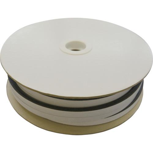 ■光 D型スポンジドラム巻粘着付 1巻(15×10MM×25M)  〔品番:KSD1-25TW〕取寄[TR-8548024]