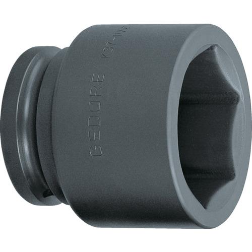 ■GEDORE インパクト用ソケット(6角) 1・1/2 K37 60mm〔品番:6328560〕[TR-8554732]