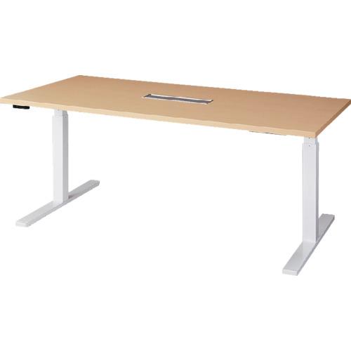 ■ナイキ 昇降テーブル リフティーナ〔品番:LTM1890H-WH〕[TR-8556076 ]【重量物・送料別途お見積り】