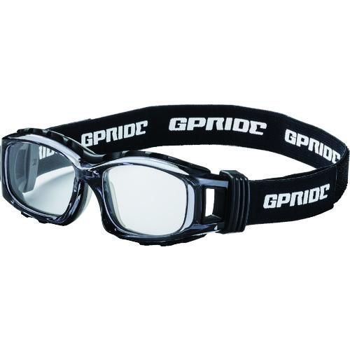 ■EYE-GLOVE 二眼型セーフティゴーグル グレー (度なしレンズ)〔品番:GP-94M-GR〕[TR-8557242]