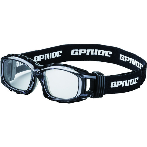 ■EYE-GLOVE 二眼型安全ゴーグル グレー+度付レンズセット(マルチコート)  〔品番:GP-94M-GR-M〕[TR-8557244]【個人宅配送不可】