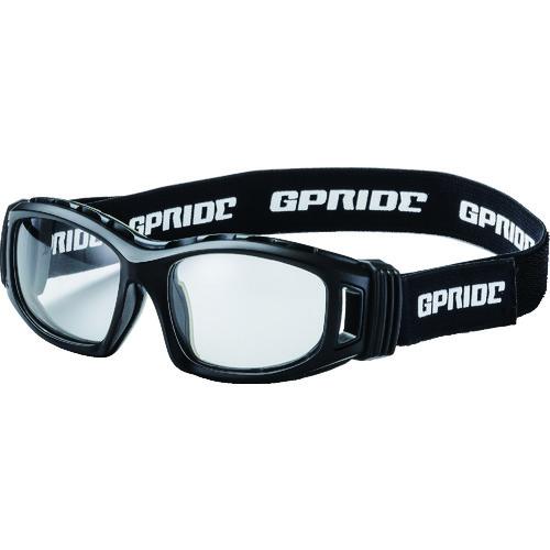 ■EYE-GLOVE 二眼型安全ゴーグル ブラック+度付レンズセット(マルチコート  〔品番:GP-98-BK-M〕[TR-8557252]【個人宅配送不可】