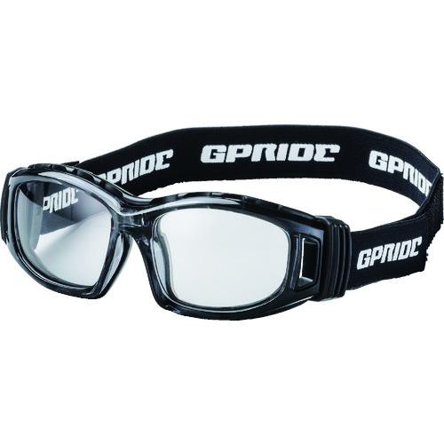 ■EYE-GLOVE 二眼型安全ゴーグル グレー+度付レンズセット(マルチコート)  〔品番:GP-98-GR-M〕[TR-8557253]【個人宅配送不可】