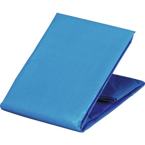■TRUSCO 防炎シートα軽量 ブルー 幅10.0MX長さ10.0M  〔品番:GBS1010A-B〕[TR-8558057]