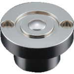 ■プレインベア スプリング付 上向き・下向き兼用 スチール製 PV50CF〔品番:PV50CF〕[TR-8560294]