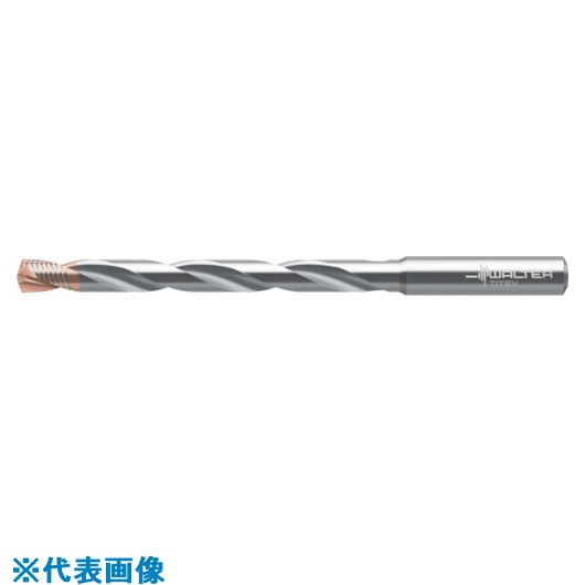 ■タイテックス 超硬ドリル SUPREMEDC170 8D 刃径10.0MM  〔品番:DC170-08-10.000A1-WJ30EJ〕[TR-8561389]