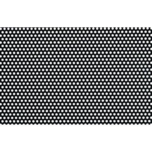 ■OKUTANI 樹脂パンチング 1.0TXD3XP5 910X910 ブラック〔品番:JP-PVC-T1D3P5-910X910/BLK〕[TR-8561536]【個人宅配送不可】