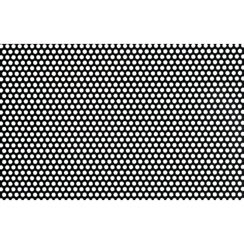 ■OKUTANI 樹脂パンチング 1.0TXD5XP8 910X910 ブラック〔品番:JP-PVC-T1D5P8-910X910/BLK〕[TR-8561539]【個人宅配送不可】