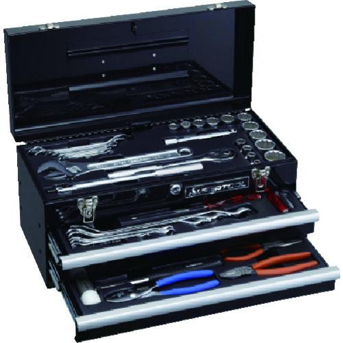 ■スーパー   プロ用デラックス工具セット(2段引き出し)〔品番:S7000DS〕[TR-8562083]