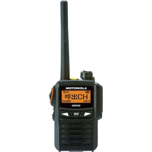 ■モトローラ デジタル簡易無線機〔品番:GDR4200〕[TR-8562531]