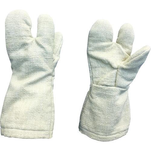 ■TRUSCO 生体溶解性セラミック耐熱手袋 3本指タイプ  〔品番:TCAT3-A〕[TR-8567496]