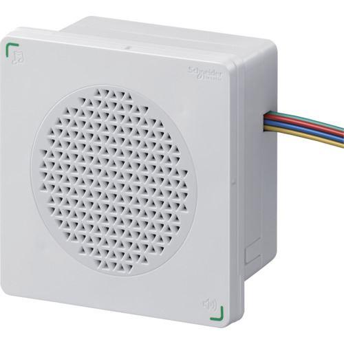 ■シュナイダー DIN96 電子音警報器 アラーム・メロディタイプ 白  〔品番:XVSA9BWN〕[TR-8568022]