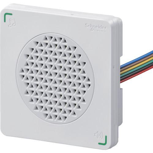 ■シュナイダー DIN72 電子音警報器 アラーム・メロディタイプ 白〔品番:XVSA7BWN〕[TR-8568024]