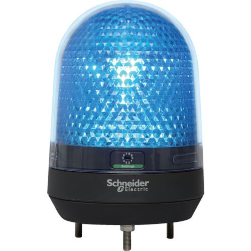 ■シュナイダー 青 Φ100 LED表示灯 DC12-24V  〔品番:XVR3B06〕[TR-8568031]
