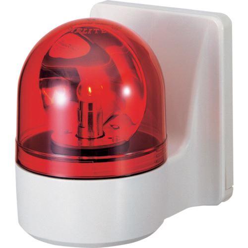 ■パトライト 壁面取付け小型回転灯  〔品番:WHB-100A-R〕[TR-8568071]