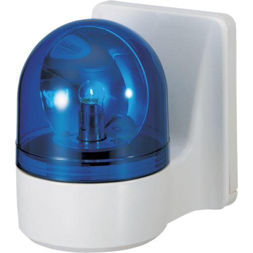 ■パトライト 壁面取付け小型回転灯  〔品番:WHB-100A-B〕取寄[TR-8568072]
