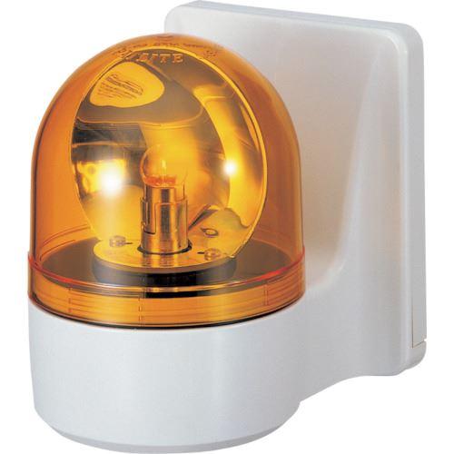 ■パトライト 壁面取付け小型回転灯  〔品番:WH-24A-Y〕[TR-8568073]