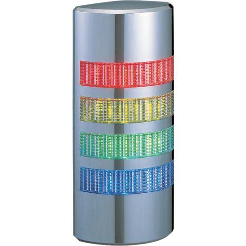 ■パトライト ウォールマウント壁面取付け積層  〔品番:WE-402-RYGB〕[TR-8568087]