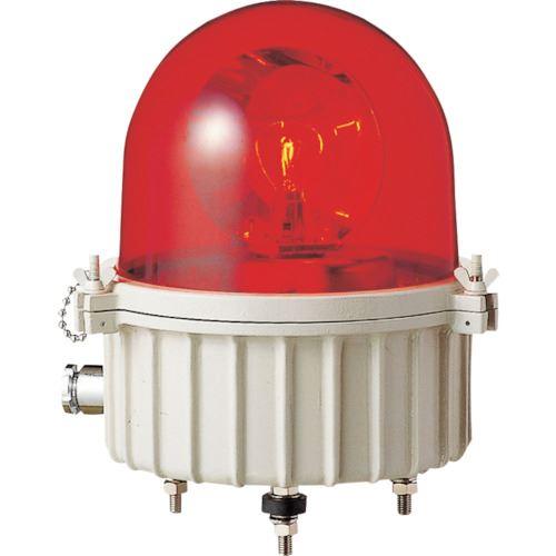 ■パトライト 完全防水型大型回転灯  〔品番:SKV-101A-R〕[TR-8568117]