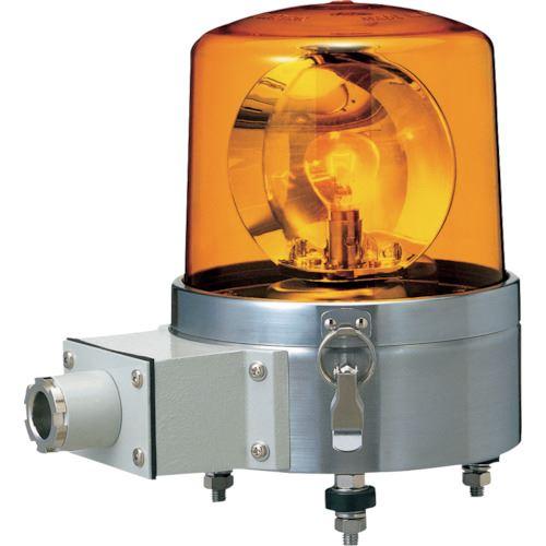 ■パトライト 船舶用大型回転灯  〔品番:SKLS-120SA-Y〕[TR-8568119]