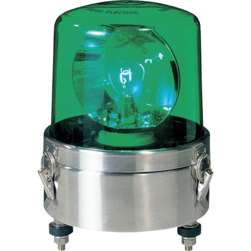 ■パトライト 大型回転灯  〔品番:SKL-120SA-G〕[TR-8568135]