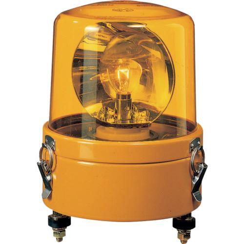 ■パトライト 大型回転灯  〔品番:SKL-110CA-Y〕[TR-8568141]