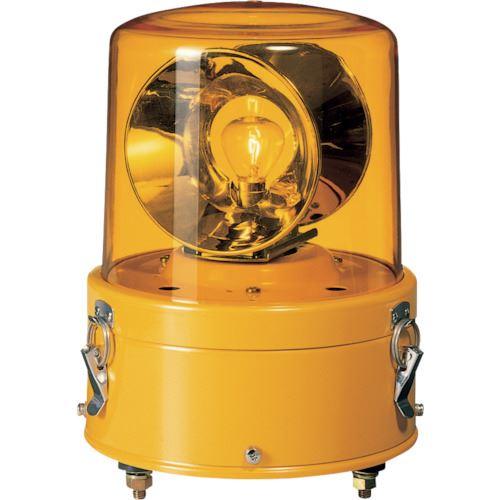 ■パトライト 大型回転灯〔品番:SKC-201A-Y〕[TR-8568194]