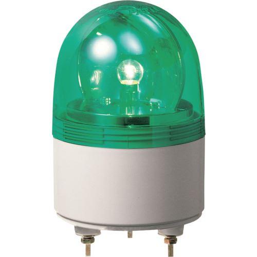 ■パトライト 超小型回転灯  〔品番:RU-100-G〕[TR-8568245]