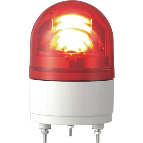 ■パトライト RHE型 LED小型回転灯 Φ100 赤 R 〔品番:RHE200R〕[TR-8568294]