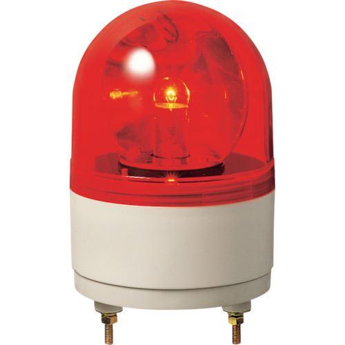 ■パトライト 小型回転灯  〔品番:RHB-24A-R〕[TR-8568303]