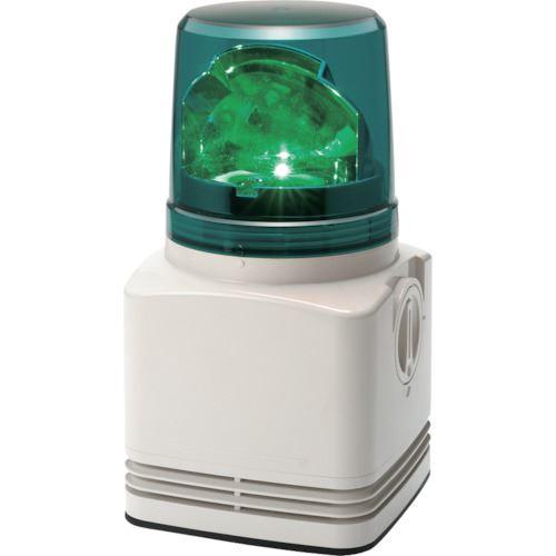 ■パトライト 電子音内蔵LED回転灯〔品番:RFT-100A-G〕[TR-8568346]