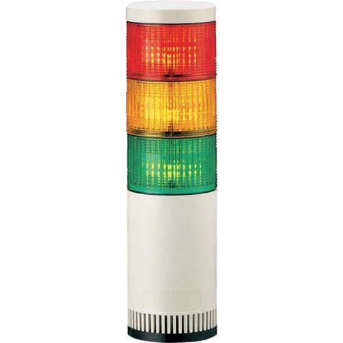 ■パトライト シグナルタワー LED大型積層信号灯  〔品番:LGE-320-RYG〕掲外取寄[TR-8568591]