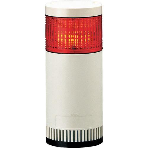 ■パトライト シグナルタワー LED大型積層信号灯  〔品番:LGE-102FB-R〕掲外取寄[TR-8568608]